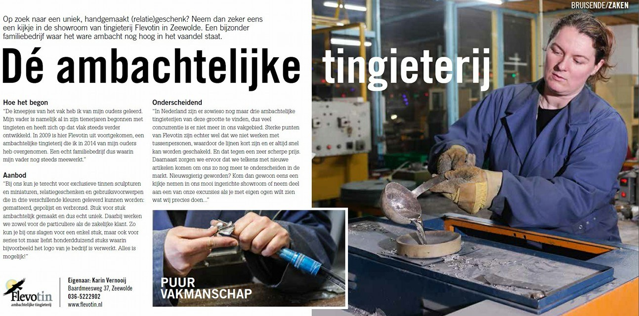 """""""Ambacht zit in ons bloed"""""""