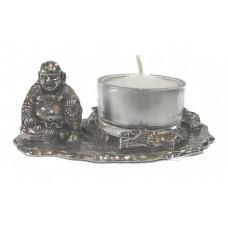 Happy boeddha waxine houder