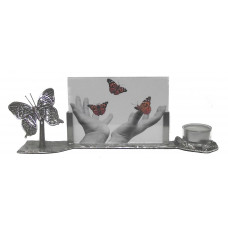 photo frame butterfly with waxine holde