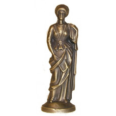Chess piece queen Bronze