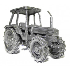 Tractor Ford 7610 gepatineerd glanzend tin.