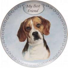 Beagle plate (my best friend)