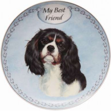 Cavalier King Charles plate (my best friend)