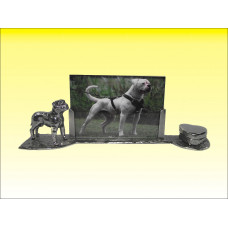 American bulldog commemoration photo frame