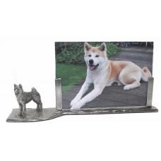 Photo frame akita