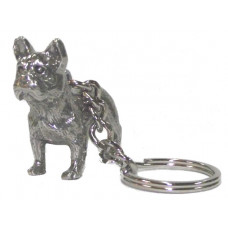 french bulldog male body keychain