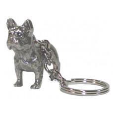 french bulldog male body keychain