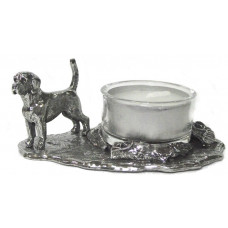 Beagle waxine holder