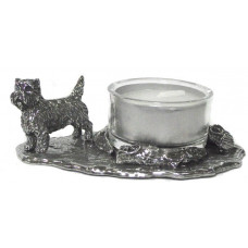 cairn terrier waxine holder