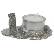 Bullmastine candleholder small